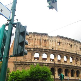 corner of ancient and history (Rome, Italy)