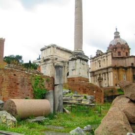beautiful ruins (Rome, Italy)