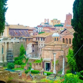 perfect ruins (Rome, Italy)