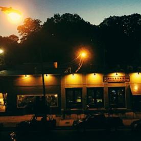 lights, cars, action (Highland Strip, Memphis, Tenn)