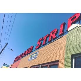 build the rainbow (Highland Strip, Memphis, Tenn)